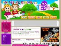 Coloriages, dessins à colorier, jeux, bricolages avec coloriage-dessin.com