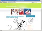 Coloriage diddl pour enfants