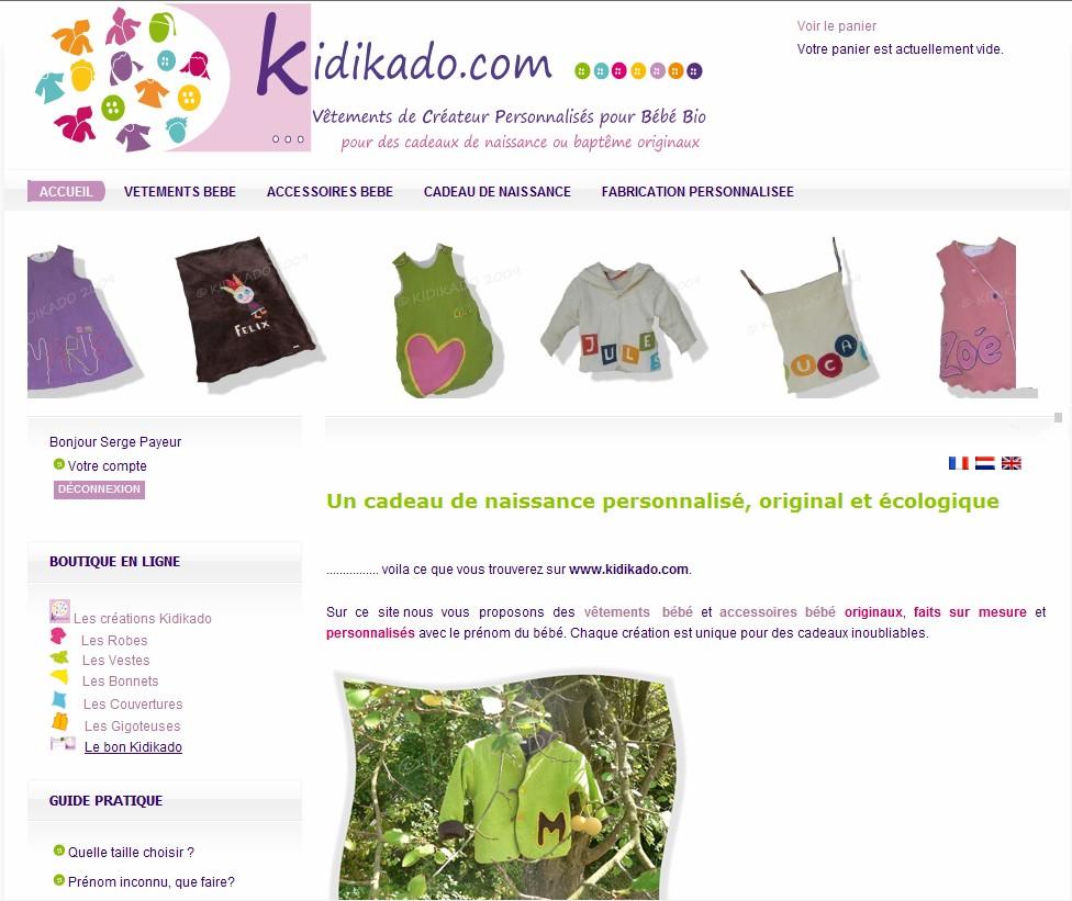 Vêtements et Accessoires pour bébé bio