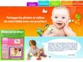 Partagez les photos et vidéos de votre bébé avec vos proches