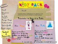Kidy Pack, éveil et motricité par le jeu
