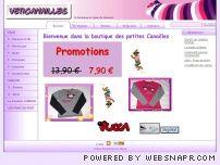 Boutique en ligne de vêtements enfants